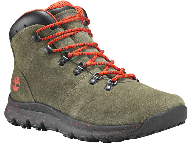 Timberland World Hiker Botas Medias Hombre, grape leaf